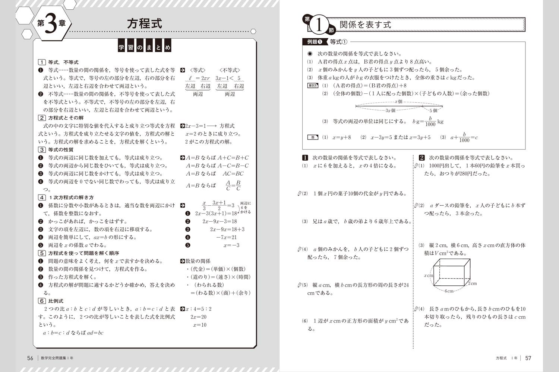 数学完全問題集 | 中学校教材 ... : 中学1年生 漢字 : 中学