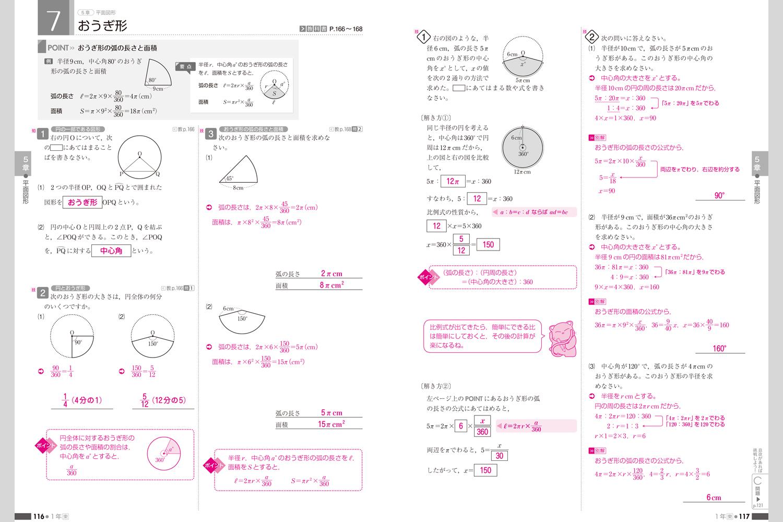 中学 中学1年 数学 図形 : 数学の学習ノート | 中学校教材 ...