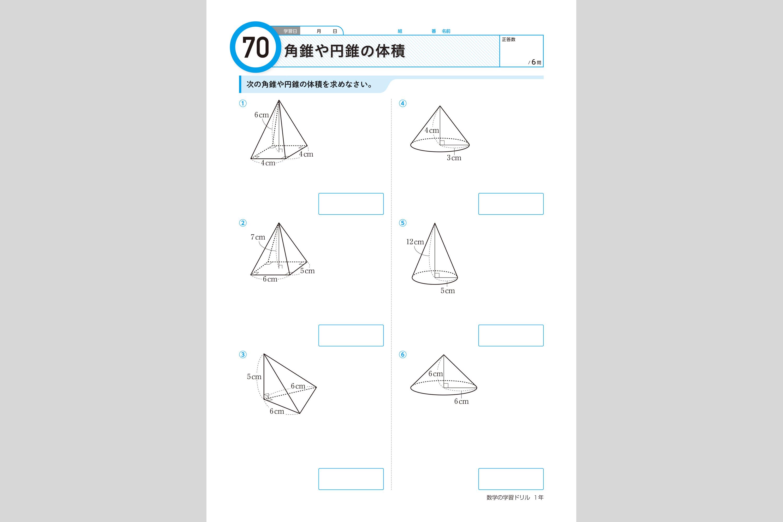 式 数学の学習ドリル | 中学校 ...