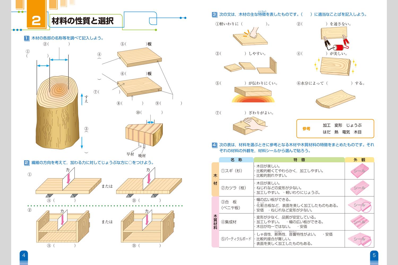 木工ノート | 中学校教材 技術 ... : 数学 学習 : 数学