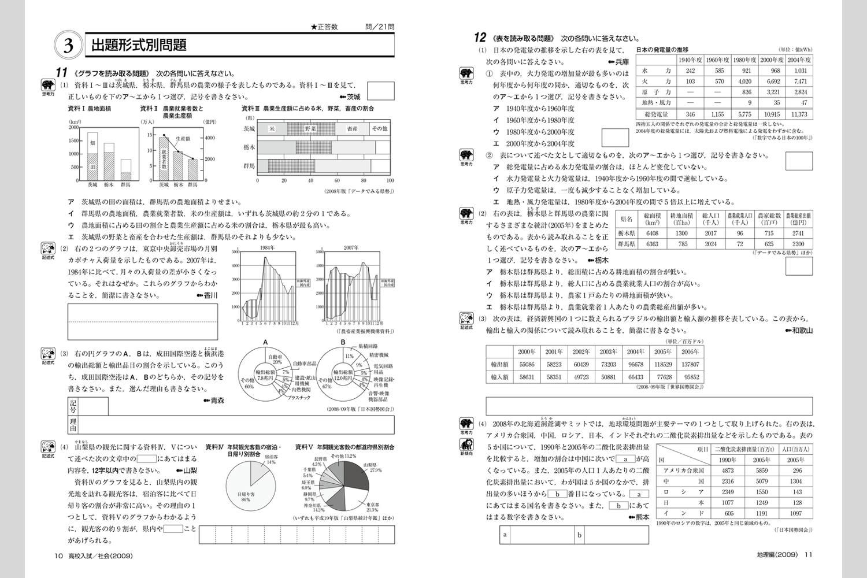 ... ! 最新高校入試問題集 社会 : 中学1年数学問題集 : 中学